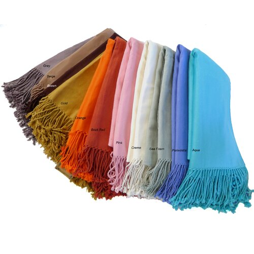 Cashmere Republic Bamboo Velvet Throw