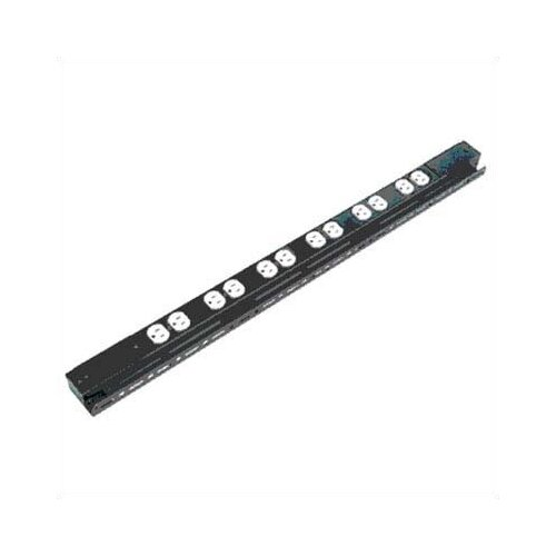 Raxxess LPPS - 15 Amp Low Profile Power Strip