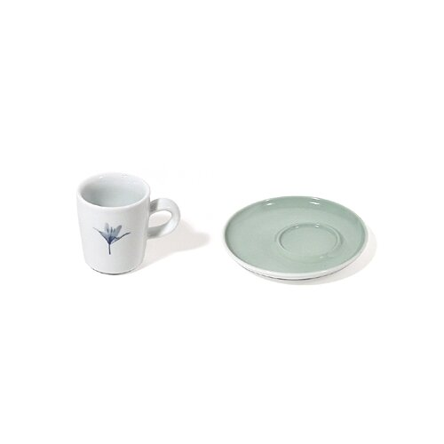 KAHLA Five Senses Hazy 8.5 oz. Espresso Cup with Saucer