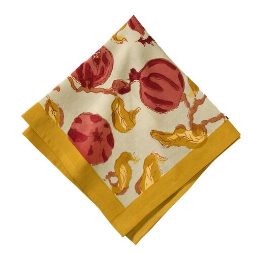 Couleur Nature Pomegranate Napkin (Set of 6)