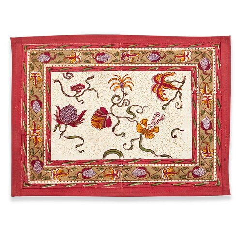 Fleurs des Indes Placemat (Set of 6)