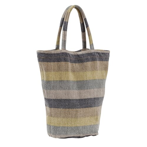 Couleur Nature Laundered Stripe Shopping Tote
