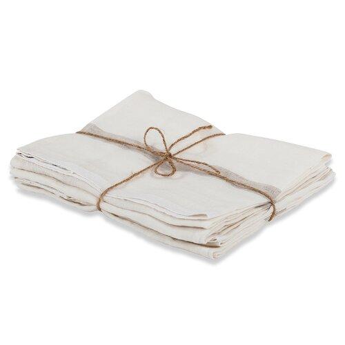 Couleur Nature Laundered Linen Stripe Napkin (Set of 4)
