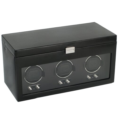 WOLF Heritage Module 2.1 Triple Watch Box