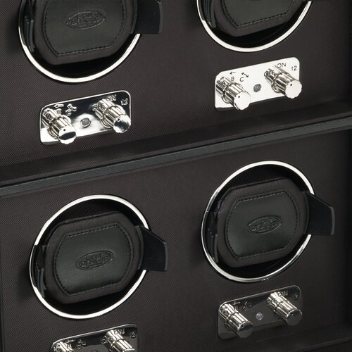 WOLF Heritage Module 2.1 Four Piece Watch Box
