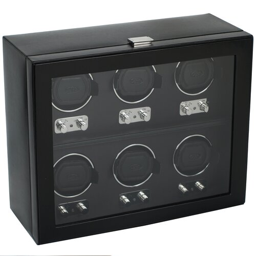 WOLF Heritage Module 2.1 Six Piece Watch Box