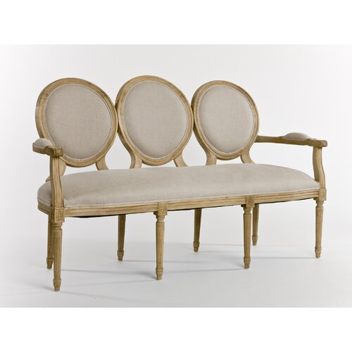 Zentique Inc. Medallion Settee Loveseat
