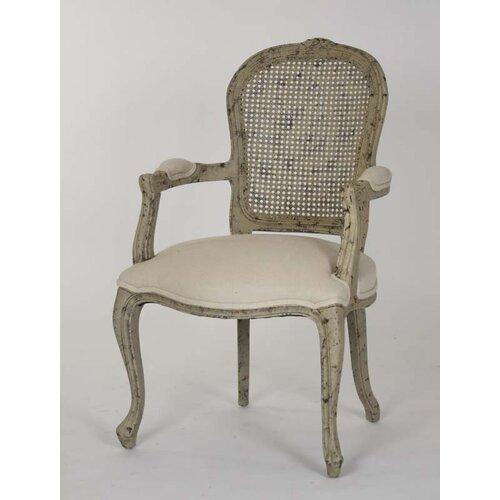 Zentique Inc. Lyon Fabric Arm Chair