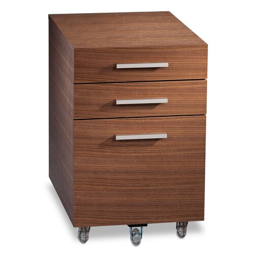 BDI Sequel 3-Drawer Mobile Low  File
