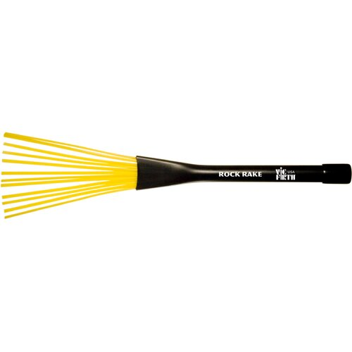 Vic Firth Rock Rake Brush in Yellow