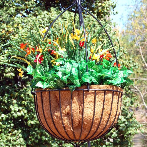Griffith Creek Designs Alexandria Round Hanging Planter