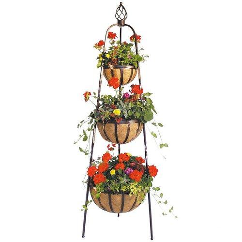 Charleston Flower Tower Planter