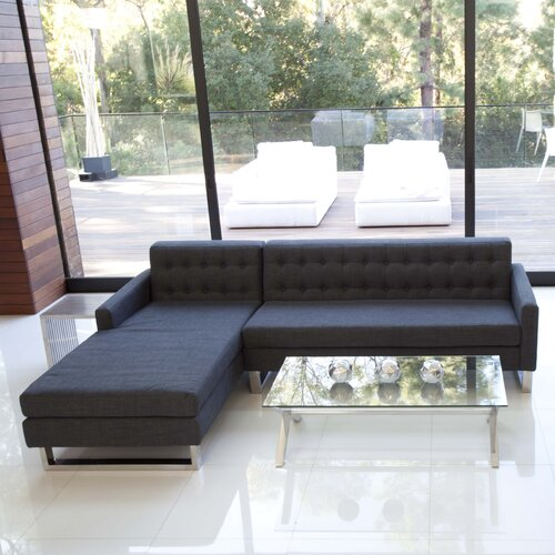 Pangea Home Nolan Left Facing Sectional