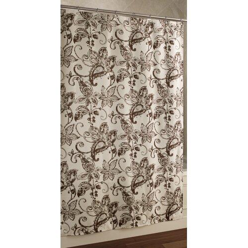 Blossom Batik Polyester Shower Curtain