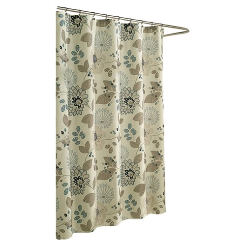 m.style Morgan Poly Shower Curtain