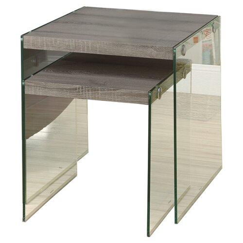 Monarch Specialties Inc. 2 Piece Nesting Table