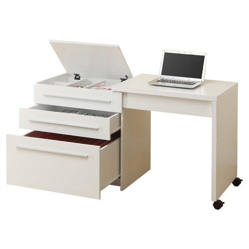 Monarch Specialties Inc. Computer Desk with Medium Storage Drawers