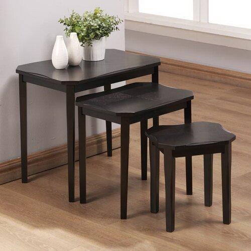 Monarch Specialties Inc. 3 Piece Nesting Tables