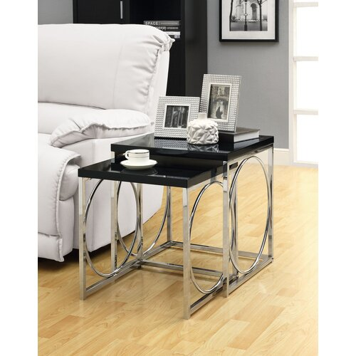 Monarch Specialties Inc. 2 Piece Nesting Tables