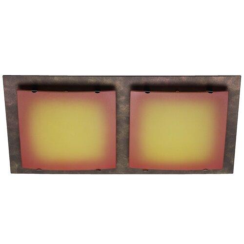 Brilliant 2 Light Flush Ceiling Light
