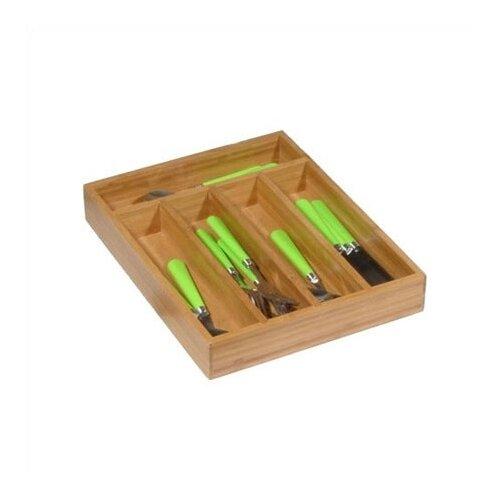 Creative Home Bamboo Cutlery Tray