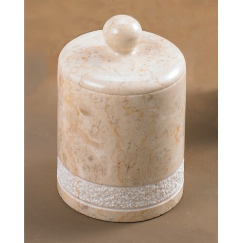 Champagne Marble Spa Hand Carved Ball Holder