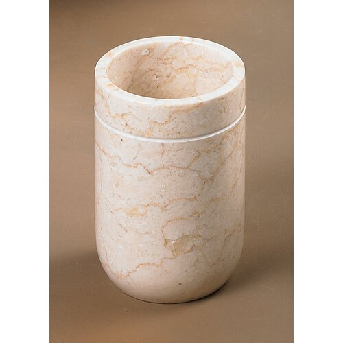 Creative Home Caramel Marble Notch Tumbler