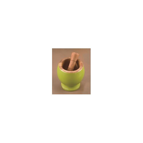 Creative Home Bamboo Mortar and Pestle