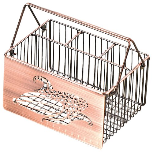 Creative Home Harvest Home Laser Cut Utensil Caddy