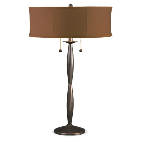 """Lighting Enterprises 31"""" H Table Lamp with Sewn Shade"""