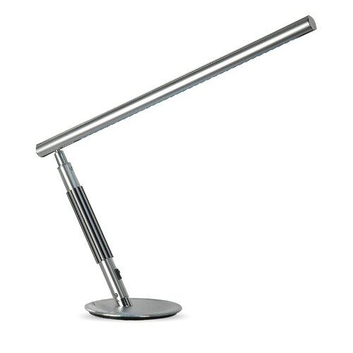 "Lighting Enterprises LED Adjustable Sleek 21"" H Table Lamp with Rectangle Shade"