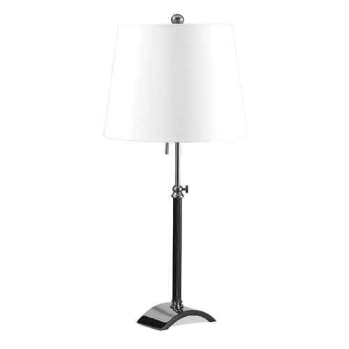 Lighting Enterprises Table Lamp with Rolled Edge Hardback Shade