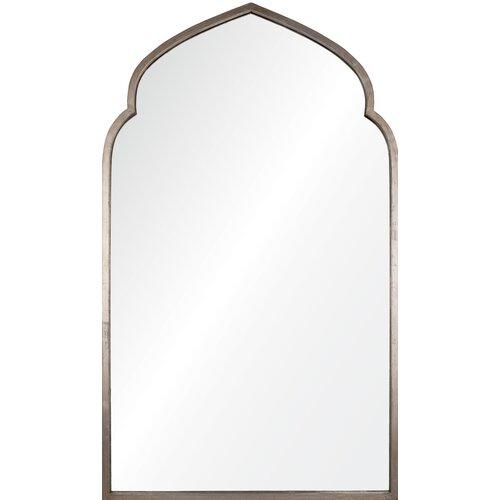 Leaf Pointed Arch Mirror