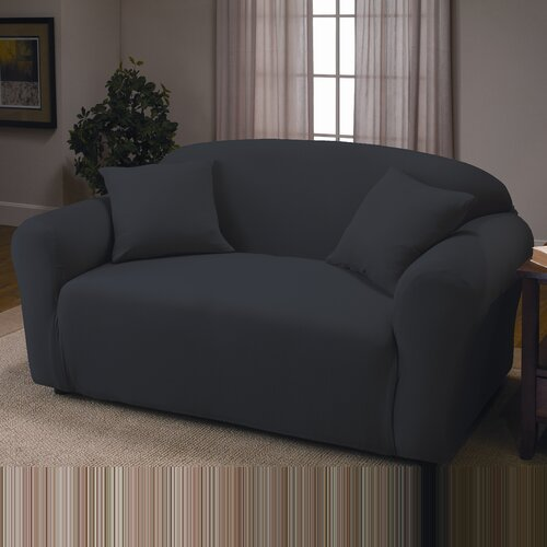 Madison Home Stretch Jersey Loveseat Slipcover Reviews