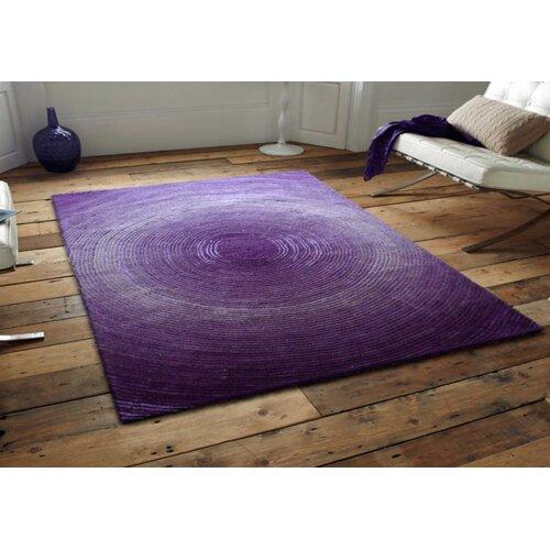 Artistry Purple Circle Rug