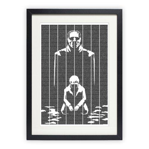 Frankenstein Graphic Art