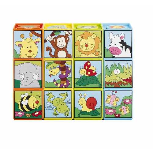 Kidoozie Kidoozie Shape Sorting Puzzle Blocks