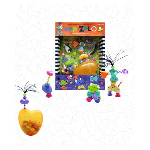 28 Piece Pop Play Sculpture Set