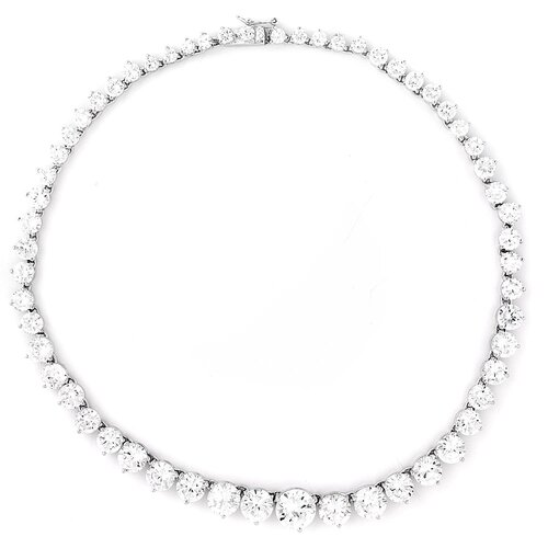 Paris Hilton's Diamond Sterling Silver Tennis Necklace