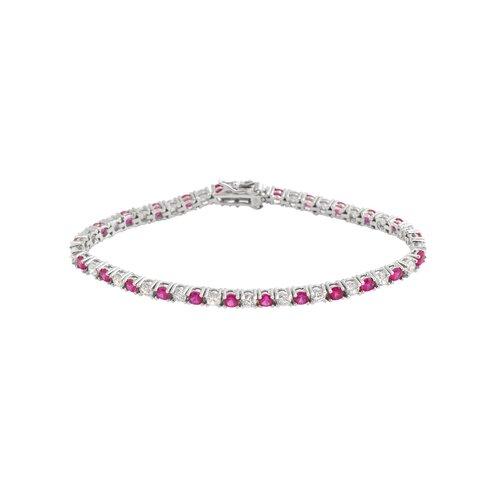 Rozzato Round Cubic Zirconia Bracelet