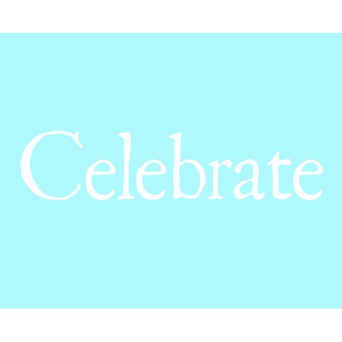 Secretly Designed Celebrate Art Print