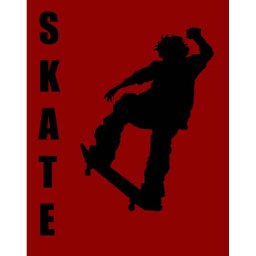 Secretly Designed Skater Paper Print