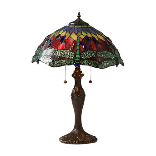 Warehouse of Tiffany Tiffany Dragonfly Table Lamp