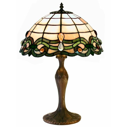 """Warehouse of Tiffany 18"""" H Classic Table Lamp"""