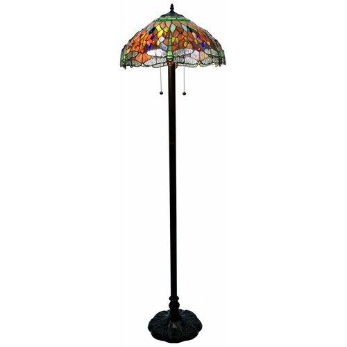 warehouse of tiffany dragonfly floor lamp reviews wayfair. Black Bedroom Furniture Sets. Home Design Ideas