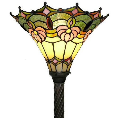 Warehouse of Tiffany Classic Torchiere Floor Lamp