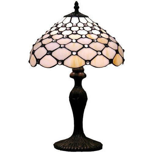 "Warehouse of Tiffany Jewel 19"" H Table Lamp"