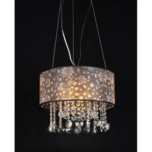 Warehouse of Tiffany Claire 4 Light Crystal Chandelier