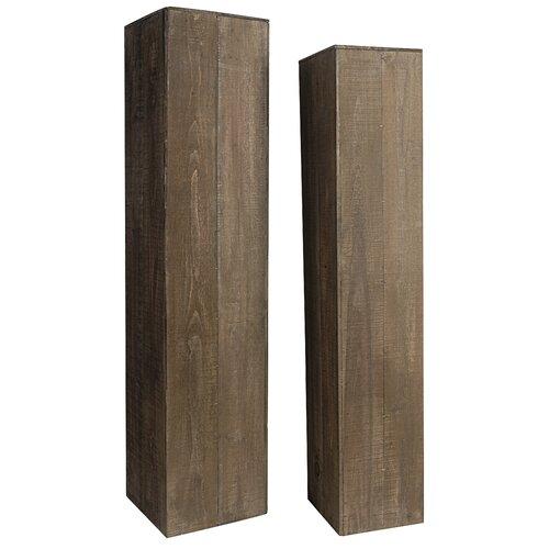A&B Home Group, Inc 2 Piece Pedestal Set