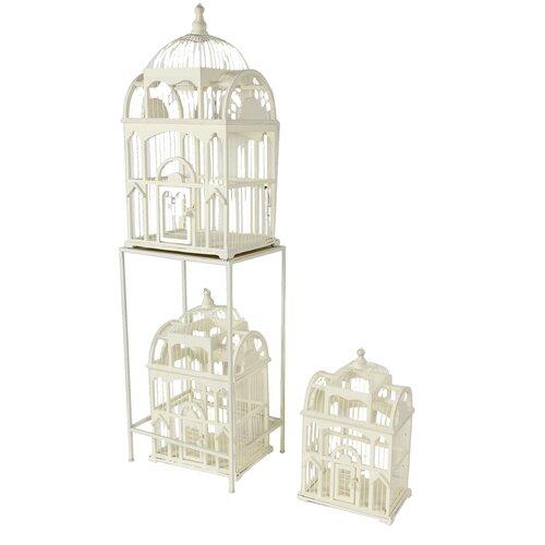 3 Piece Bird Cage Set